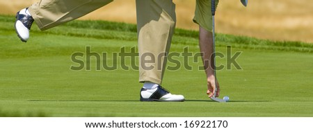 golf game moment