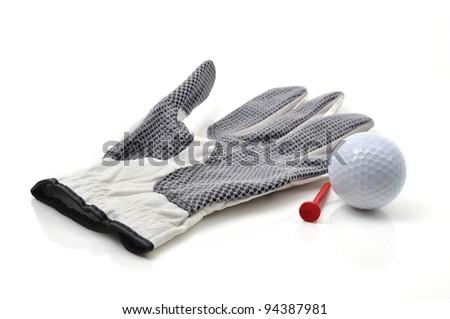 Golf Glove and Ball