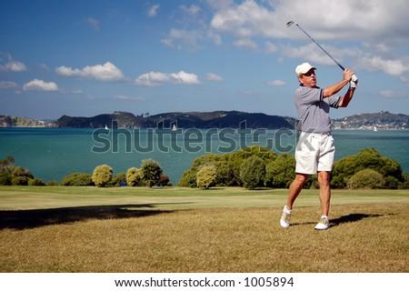 Golf - the iron shot