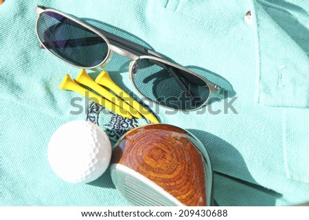 Golf Wear and Golf Equipment