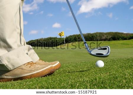 golfer detail