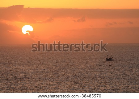 Gomera sunset