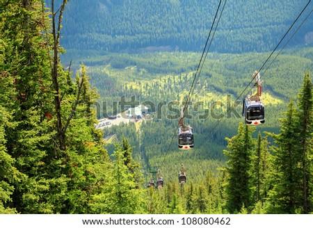 Gondola in the Rocky Mountains (Banff. Alberta. Canada) #108080462