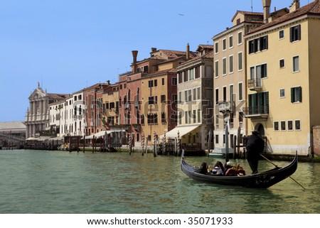Gondola Ride on the Grand Canal Venice