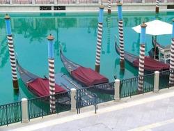 gondolas Las Vegas