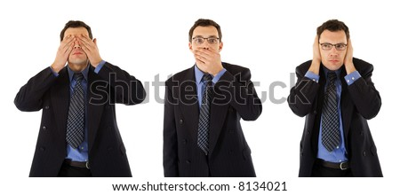 ΜΠΑΤΣΑΚΙΑ ΤΗΣ ΟΜΑΔΑΣ Δ!! - Σελίδα 4 Stock-photo-good-behavior-of-a-successful-businessman-don-t-see-don-t-speak-and-don-t-hear-anything-8134021