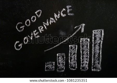 good governance concept with...