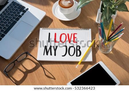 Good Job Assistant I LOVE MY JOB  , Businessman and Businesswoman #532366423