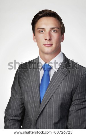 good looking man in a business suit