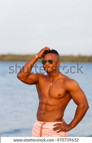 Very beach Naked young