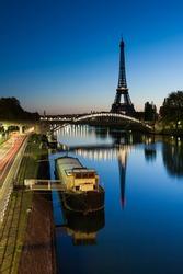 Good morning Eiffel, Paris, France