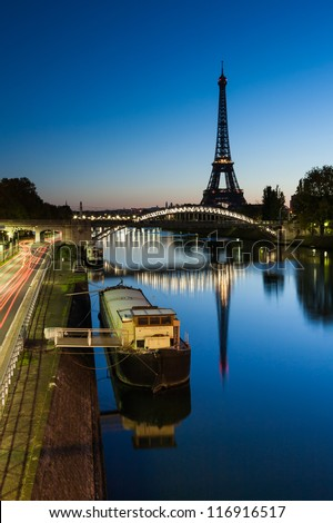 Good morning Eiffel, Paris, France