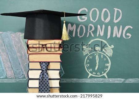 Good morning! Unusual education concept.
