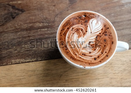 Free Photos Good Morning With Hot Chocolate On Wood Table Beautiful