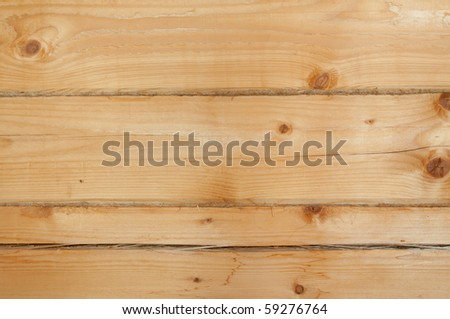 Good new boards are photographed as a structure
