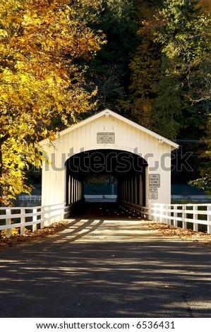 Good Pasture Covered Bridge, Oregon
