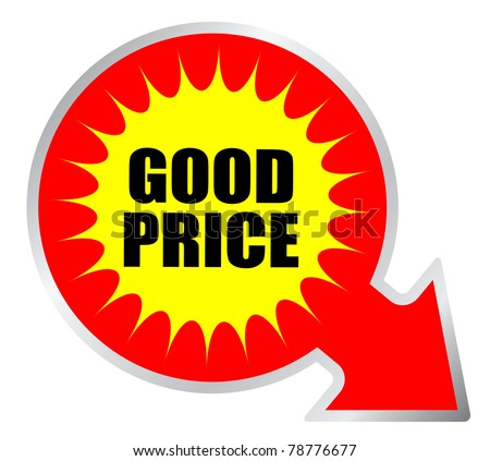 Good price sticker