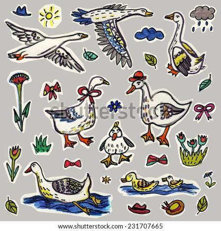 goose pattern