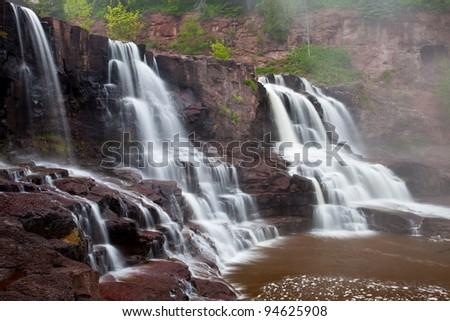 Gooseberry Falls, North Shore of Lake Superior, Minnesota, USA