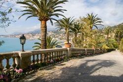 Gorden of Menton, French Riviera, France