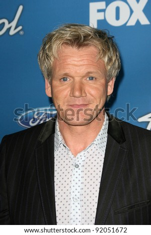 Gordon Ramsay  at the American Idol Season 10 Top 13 Finalists Party, The Grove, Los Angeles, CA. 03-03-11