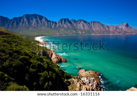 Gordons Bay near Cape Town South Africa