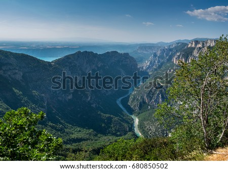 Gorges du Verdon , Alpes-de-Haute-Provence, France #680850502