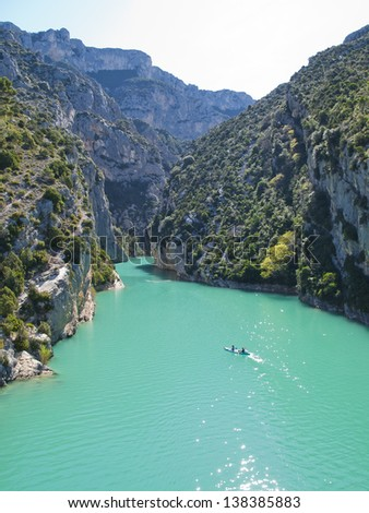 Gorges du Verdon or Grand canyon du Verdon