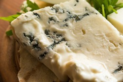Gorgonzola, typical italian blue cheese