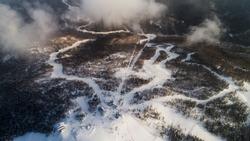 Gorny Vozdukh ski resort Gorny Vozdukh or Mountain Air is a large winter sports center on the Russian island of Sakhalin.