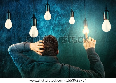Got the Right Idea, Lightbulbs, Smoldering Head  #1553925734