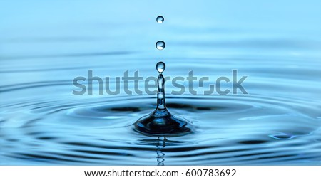 Shutterstock Gota de agua.