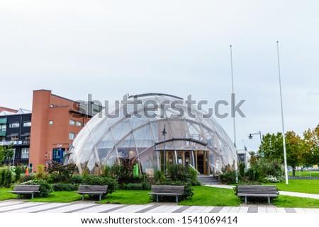 """Gothenburg, Sweden - September 19, 2019: """"Dome of Visions"""" at Lindholmen Science Park at Gothenburg #1541069414"""