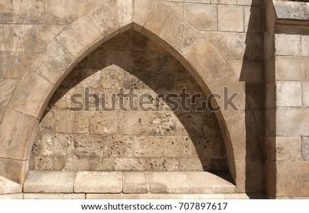 Gothic arch #707897617