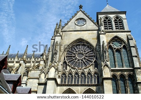 Gothic Architecture - Historical Cathedra. Architecture Photo Collection.