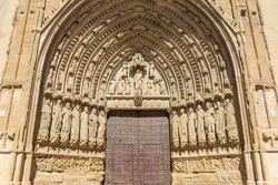 Gothic Cathedral of Huesca, Aragon, Spain, Europe