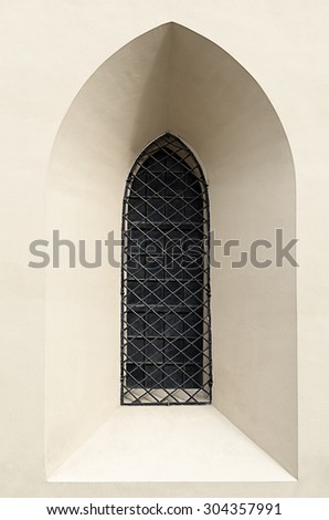 Gothic Cathedral Window Closed