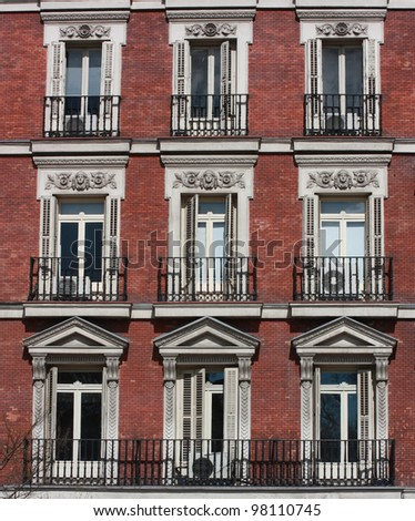 Brick Apartment Building Window. Brick Apartment Building Entrance. Home Design Ideas