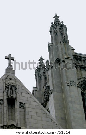 Gothic style church in San Francisco