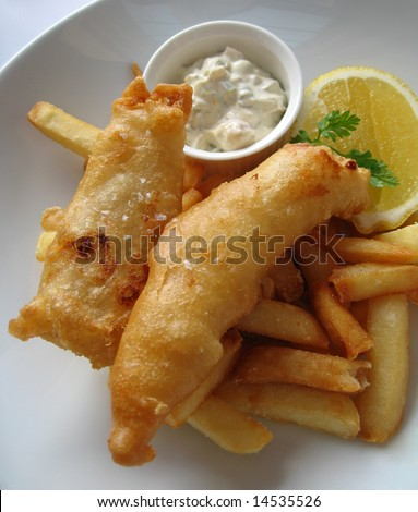 Healthy Fish And Chips With Tartar Sauce | Short News Poster