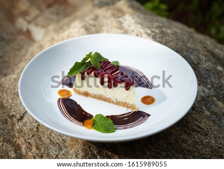 Gourmet Pastry on a beautiful plate