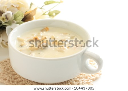 Gourmet soup, Clam chowder