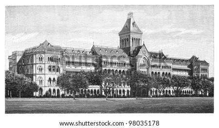 government building mumbai ...
