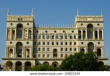 Governmental building in Baku,Azerbaijan