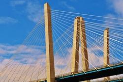 Governor Mario Cuomo Bridge, over the Hudson River