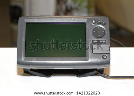 GPS Navigation Device With Big Screen #1421322020