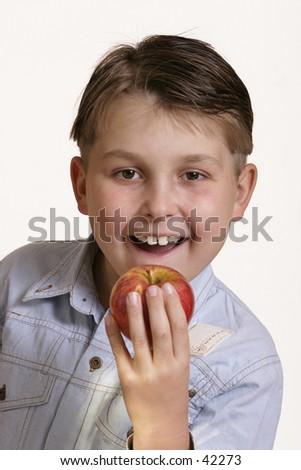 Grab an apple
