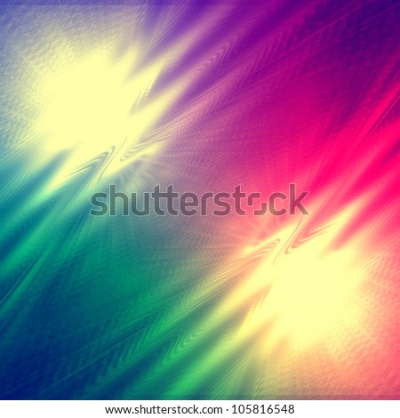 gradient  abstract background with wave and lights