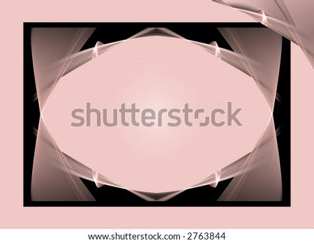 Gradient pink and white oval over a soft pink and black abstract background.Great background for black font.