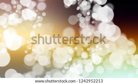 Gradient with bokeh effect, sparkle and Double Pearl Lusta, Grey, Black Haze color. Blank simple defocused and blurred backdrop with the transition colors for advertising. Stock fotó ©